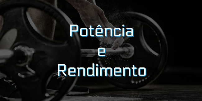 Potência é a quantidade de trabalho realizada em um intervalo de tempo. Já rendimento é razão entre as quantidades de energia útil e total.