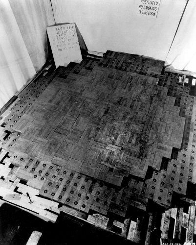 Primeiro reator nuclear concebido em Chicago, EUA