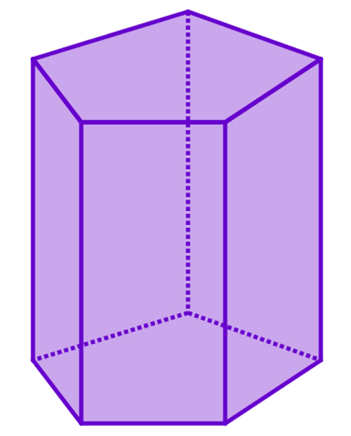 Prisma reto pentagonal
