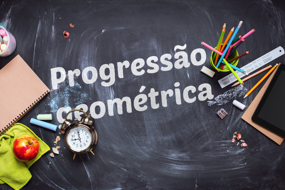Progressão geométrica: sequência onde cada termo é igual ao produto de seu antecessor por uma constante