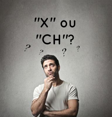 Quando usar X e CH?