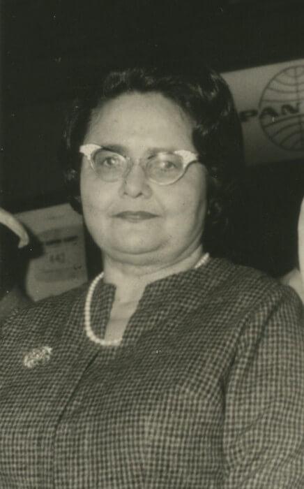 Rachel de Queiroz em 1971