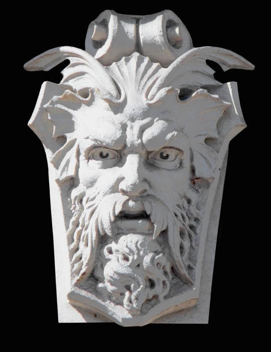 Representação de Fobo, que na mitologia grega representa o medo.