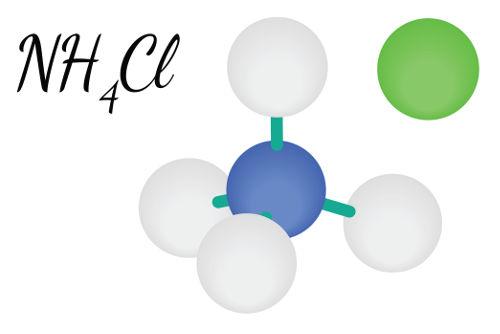 Representação do sal que pode ser obtido por meio de hidrólise ácida de amidas