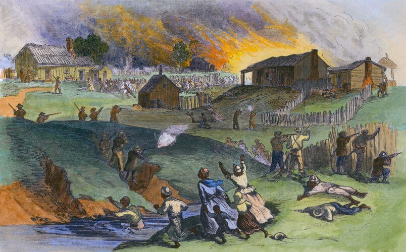 As revoltas realizadas pelos escravos foram uma das formas de resistência à escravidão.