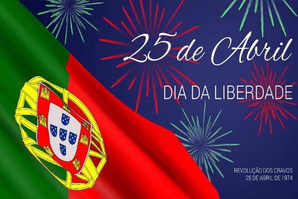 Em 25 de abril, portugueses comemoram o Dia da Liberdade