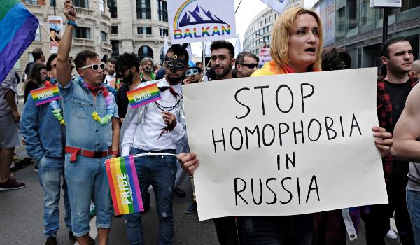 A Rússia é considerada um dos países mais homofóbicos do mundo*