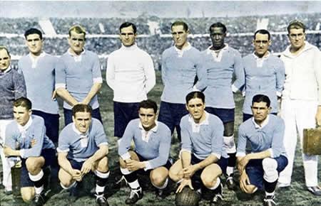 Seleção Uruguaia - A primeira campeã do mundo