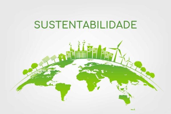 A sustentabilidade representa o equilíbrio encontrado na exploração dos recursos naturais e a preservação do meio ambiente.