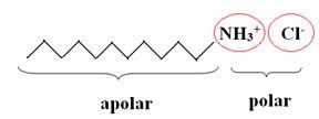 Molécula do tensoativo catiônico do condicionador