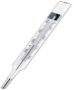 Termômetro comum de mercúrio