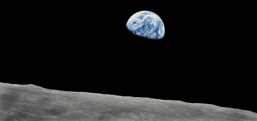 Foto da Terra tirada da Lua, na missão Apollo 11. (Créditos da imagem: Nasa)