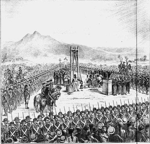 Tiradentes foi executado em 21 de abril de 1792