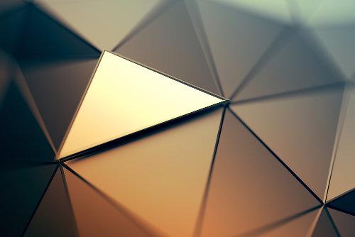 Triângulo: polígono que possui três lados