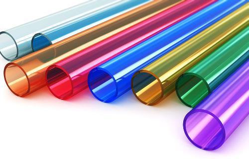 Tubos feitos a partir de polímeros