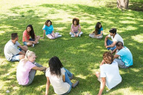 Um ambiente descontraído ajuda a abordar o tema da sexualidade com os alunos