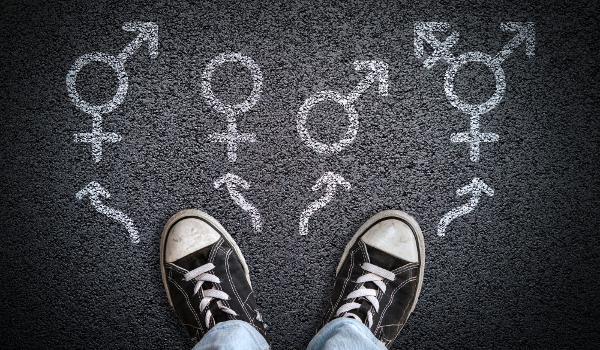 Uma pessoa pode identificar-se com o gênero com que nasceu (cisgênero) ou não (transgênero).*