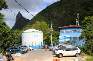 Unidade de Santa Marta, a primeira UPP inaugurada no Rio de Janeiro *