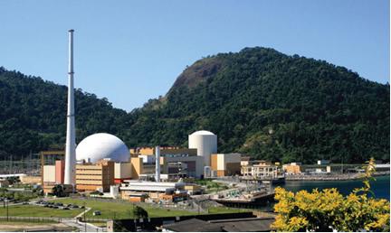 Usina nuclear em Angra dos Reis