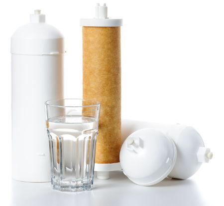 Vela para filtração de água em residências