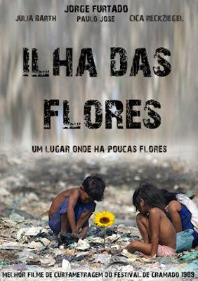 Vencedor na categoria do Festival de Gramado de 1989, o curta-metragem Ilha das Flores apresenta interessantes recursos de linguagem