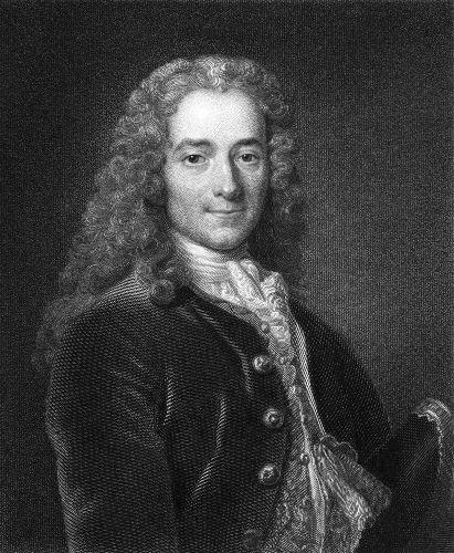 Voltaire foi o ícone do iluminismo na França
