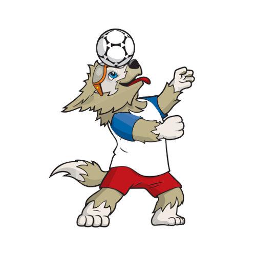Zabivaka é o mascote da Copa do Mundo 2018, na Rússia