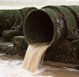 O esgoto é um dos principais agentes poluidores das águas marinhas