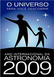 Banner Oficial do Ano Internacional da Astronomia