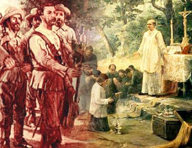 Bandeirantes e jesuítas possuíam interesses distintos com relação ...