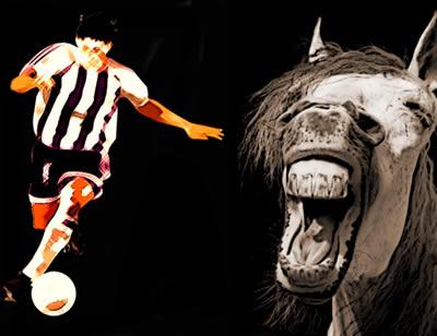 """O termo """"cavalo paraguaio"""" é muito usado entre os amantes do futebol"""