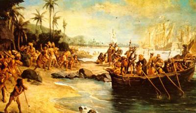 Oscar Pereira da Silva, Desembarque de Cabral em Porto Seguro