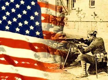 A entrada dos EUA teve grande influência no desfecho da Primeira Guerra Mundial