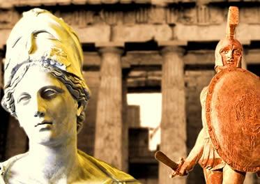 Esparta x Atenas  As características culturais de Esparta e