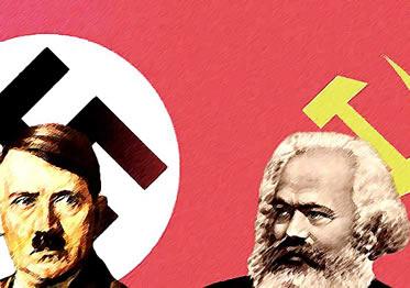 Resultado de imagem para hitler marx comunismo