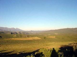 Cordilheiras Karoo, uma das paisagens da África do Sul