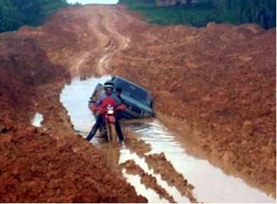 Vários trechos da rodovia Transamazônica são intransitáveis
