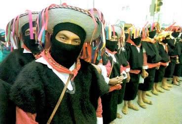 Integrantes do Exército Zapatista de Libertação Nacional: unidos pelas questões políticas e sociais mexicanas