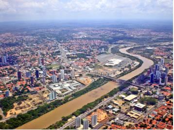 Imagem de Teresina, cidade mais populosa do Piauí