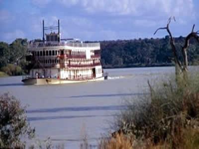 Rio Murray, uma das principais paisagens naturais da Austrália