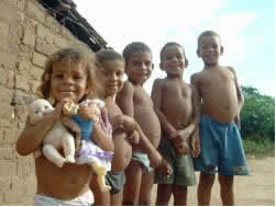 O Nordeste apresenta um elevado índice de pobreza