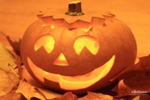 A abóbora faz parte da comemoração do Halloween
