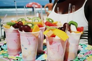A ingestão de frutas melhora o processo digestivo