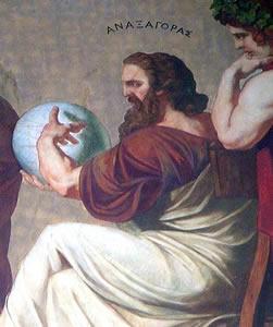 Anaxágoras acreditava que a origem do Universo estava no que ele chamou de sementes, partículas infinitas que supostamente compõem tudo o que existe.