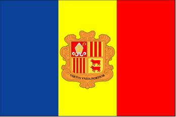 Bandeira da Andorra
