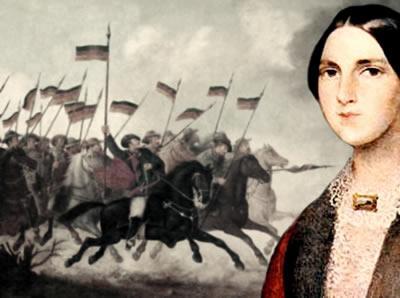Anita Garibaldi quebrou os padrões de sua época ao se envolver na luta revolucionária