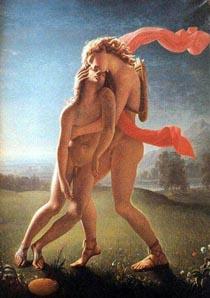Zéfiro por inveja matou a jacinto