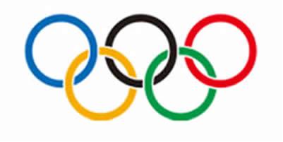 Arcos, símbolos dos Jogos Olímpicos
