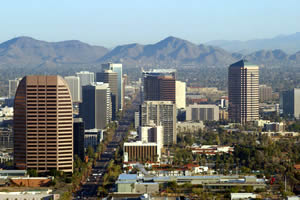 Phoenix, a maior cidade do Arizona