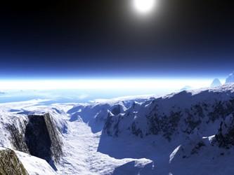 Visão noturna do Ártico